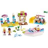 LEGO Juniors 10747 Andrea a Stephanie na dovolené na pláži