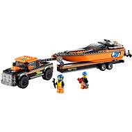 LEGO City 60085 Skvělá vozidla, Motorový člun 4x4