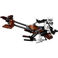 LEGO Constraction Star Wars 75532 Průzkumný voják a speederová motorka
