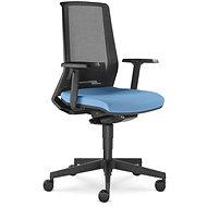 LD Seating Look černo/modrá