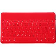 Logitech Keys-To-Go - červená