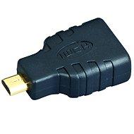 Gembird HDMI A(F) --> micro HDMI(M), zlacené konektory