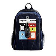 """Approx batoh na 15.6"""" notebook + optická USB myš"""