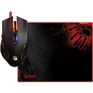 A4tech Bloody Neon XGlide Q5081S set myši Q50 + podložka B-081S