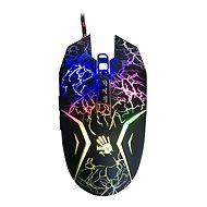 A4tech Bloody N50 Neon černá s neonovým podsvícením