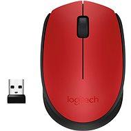 Logitech Wireless Mouse M171 červená