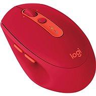 Logitech Wireless Mouse Silent M590 červená