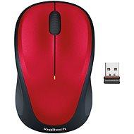 Logitech Wireless Mouse M235 červená