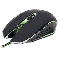 Gembird MUSG-001-G zeleno-černá