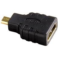 Hama HDMI, zásuvka typ A - vidlice typ D micro (HDMI F <-> HDMI micro M)