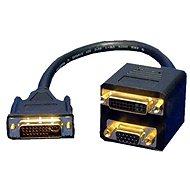 OEM DVI-I(M) dual --> DVI-I(F) single + VGA