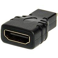 OEM HDMI A(F) --> micro HDMI(M), zlacené konektory