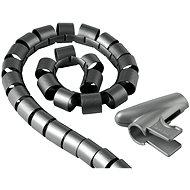 Trubice pro vedení kabelů 2.5m stříbrná