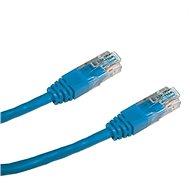Datacom CAT5E UTP modrý 0.5m