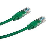 Datacom CAT5E UTP zelený 0.5m