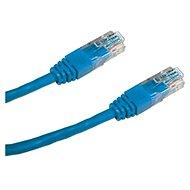 Datacom, CAT6, UTP, 0.25m modrý