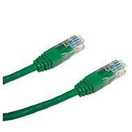 Datacom, CAT6, UTP, 0.25m zelený