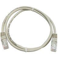 Datacom CAT5E UTP šedý 1m