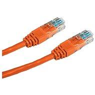 Datacom CAT5E UTP oranžový 1m