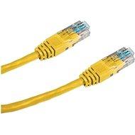 Datacom CAT5E UTP žlutý 2m
