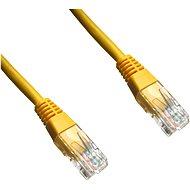 Datacom, CAT6, UTP, 2m, žlutý