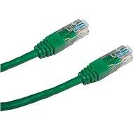 Datacom CAT5E UTP zelený 5m