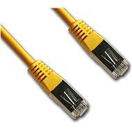 Datacom CAT5E FTP žlutý 1m