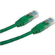 Datacom CAT5E UTP zelený 0.25m