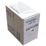 Datacom, drát, CAT5E, UTP, LSOH, 305m/box