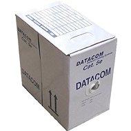 Datacom, drát, CAT5E, UTP, venkovní, 305m/box
