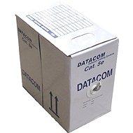 Datacom, drát, CAT5E, FTP, PE venkovní, 305m/box
