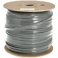 Datacom, drát, CAT6, FTP, PVC, 500m/cívka