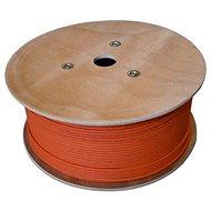 Datacom, drát, CAT7, LSOH, S/FTP, oranžový plášť, 500m/box