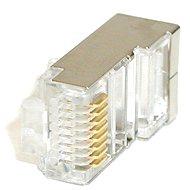 ROLINE 10-pack, RJ45, CAT5, STP, 8p8c, stíněný, na kabel