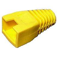 Datacom, RJ45, plastová, žlutá