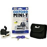 OXFORD zámek kotoučové brzdy Mini T, (chrom)