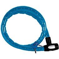 OXFORD zámek na motocykl Barrier,  (modrý, vyztužený, délka 1,5m)