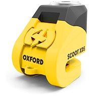 OXFORD zámek kotoučové brzdy Scoot XD5, (žlutý/černý, průměr čepu 6mm)