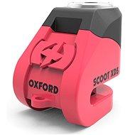 OXFORD zámek kotoučové brzdy Scoot XD5, (růžový/černý, průměr čepu 6mm)