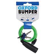 OXFORD zámek na motocykl Bumper Cable Lock,  (zelený, délka 0,6m)