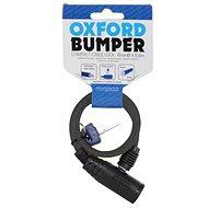 OXFORD zámek na motocykl Bumper Cable Lock,  (žlutý, délka 0,6m)