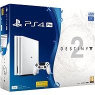 PlayStation 4 Pro 1TB - Glacier White + Destiny 2