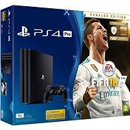 PlayStation 4 Pro 1TB + FIFA 18 Ronaldo Edition