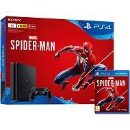 PlayStation 4 1TB Slim + Spider-Man