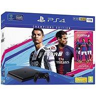 PlayStation 4 1TB Slim + FIFA 19 Champions Edition