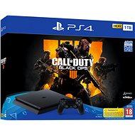 PlayStation 4 1TB Slim + Call of Duty: Black Ops 4