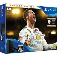 PlayStation 4 1TB Slim + FIFA 18 Ronaldo Edition