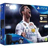 Sony PlayStation 4 1TB Slim + FIFA 18 + extra DualShock 4