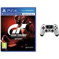 Gran Turismo Sport + DS4 ovladač GT Sport
