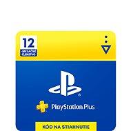 PlayStation Plus 12 měsíční členství - SK Digital